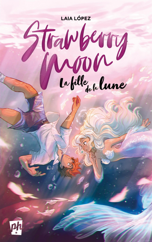 Couverture Strawberry moon : La fille de la lune
