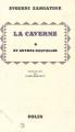 Couverture La caverne suivi de Le récit du plus important et par Le fléau de Dieu Editions Actes Sud 1992