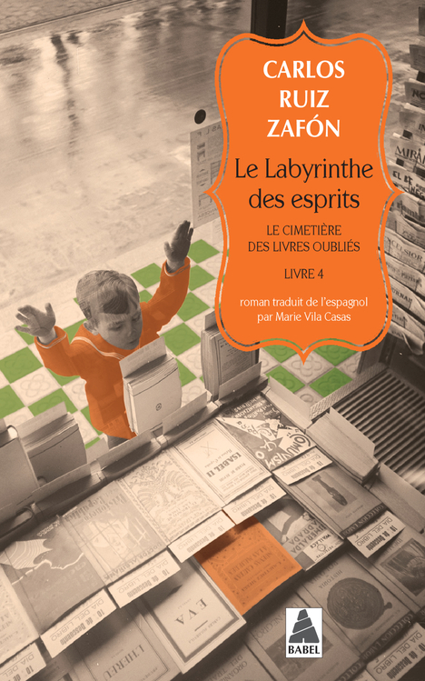 Couverture Le labyrinthe des esprits