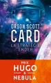 Couverture Le cycle d'Ender, tome 1 : La stratégie Ender Editions J'ai Lu 2018