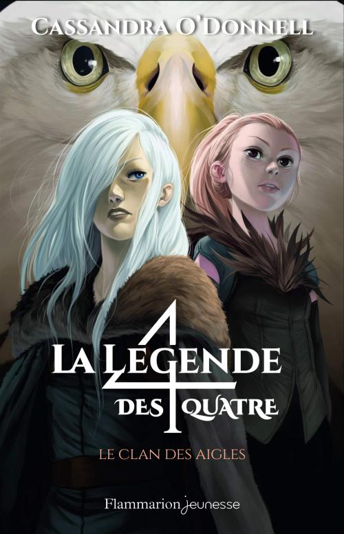 Couverture La légende des quatre, tome 4 : Le clan des aigles