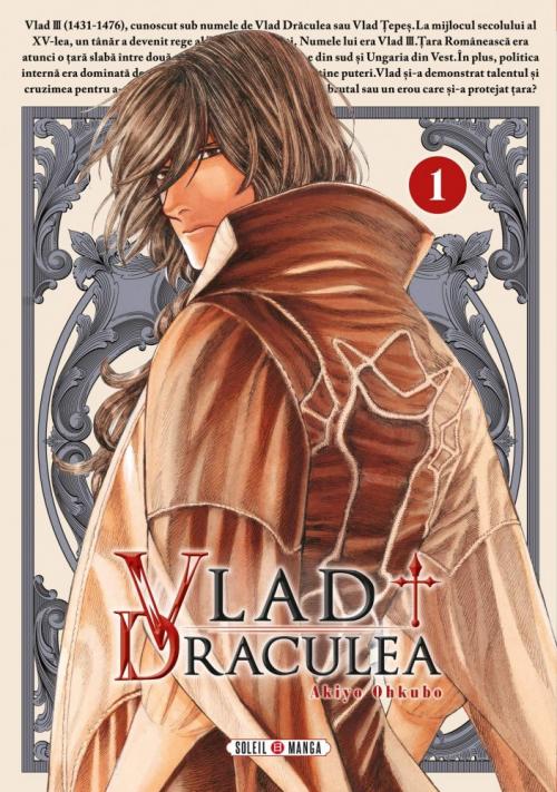 Couverture Vlad Draculea, tome 1