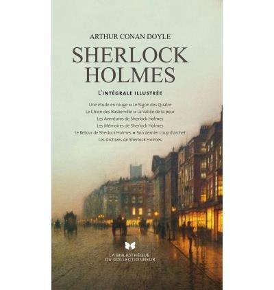 Couverture Sherlock Holmes : L'intégrale illustrée