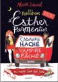 Couverture Les tribulations d'Esther Parmentier, sorcière stagiaire : Cadavre haché - vampire fâché Editions Rageot 2020