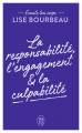 Couverture Écoute ton corps : La responsabilité, l'engagement et la culpabilité Editions J'ai Lu (Bien-être) 2020