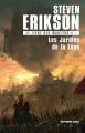 Couverture Le livre des martyrs / Le livre malazéen des glorieux défunts, tome 01 : Les jardins de la lune Editions Leha 2018