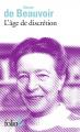 Couverture L'âge de la discrétion Editions Folio  (2 € - Femmes de lettres) 2018