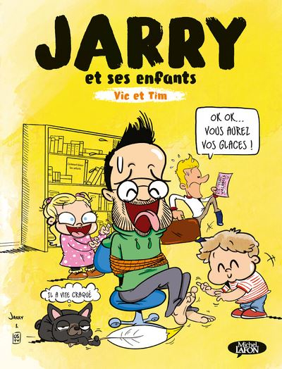 Couverture Jarry, Vic et Tim, Tome 1 : Jarry et ses enfants