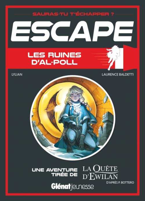 Couverture Escape ! Les ruines d'Al-Poll
