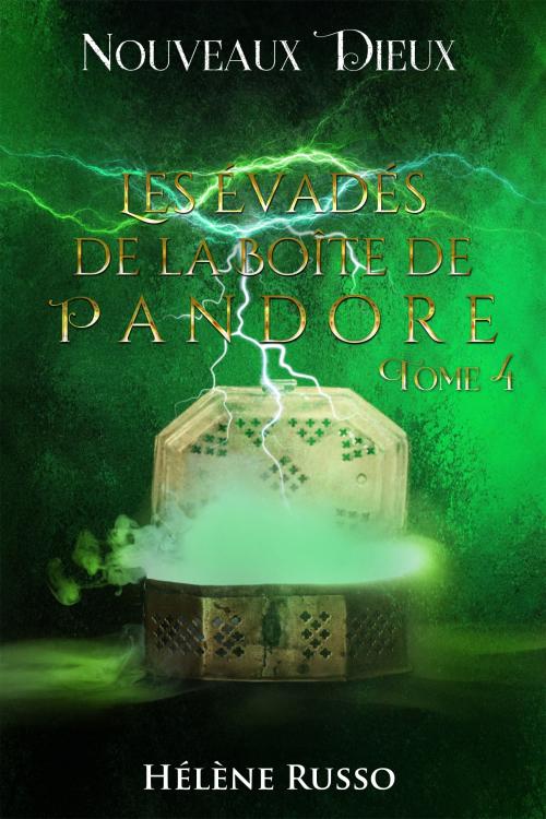 Couverture Nouveaux Dieux, tome 4 : Les Évadés de la Boîte de Pandore