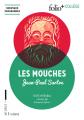 Couverture Huis clos suivi de Les mouches Editions Folio  (+ Collège) 2018