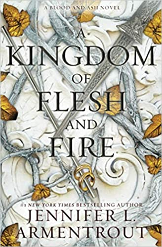 Couverture Blood and Ash, book 2: A kingdom of flesh and fire