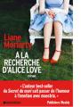 Couverture À la recherche d'Alice Love Editions Book-e-book 2020