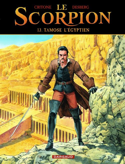 Couverture Le Scorpion, tome 13 : Tamose l'égyptien