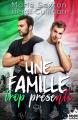 Couverture Une famille trop présente Editions MxM Bookmark (Romance) 2020