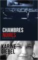 Couverture Chambres noires Editions Belfond 2020