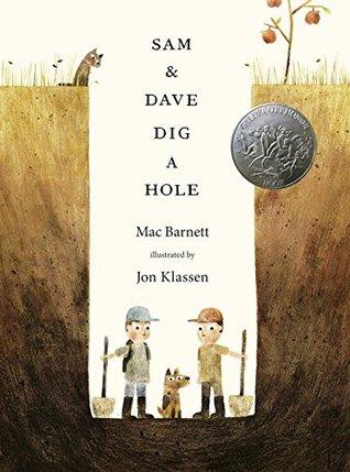 Couverture Max et Sam creusent, creusent, creusent...
