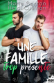 Couverture Une famille trop présente Editions MxM Bookmark 2020