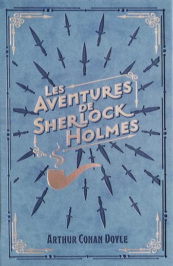 Couverture Les aventures de Sherlock Holmes
