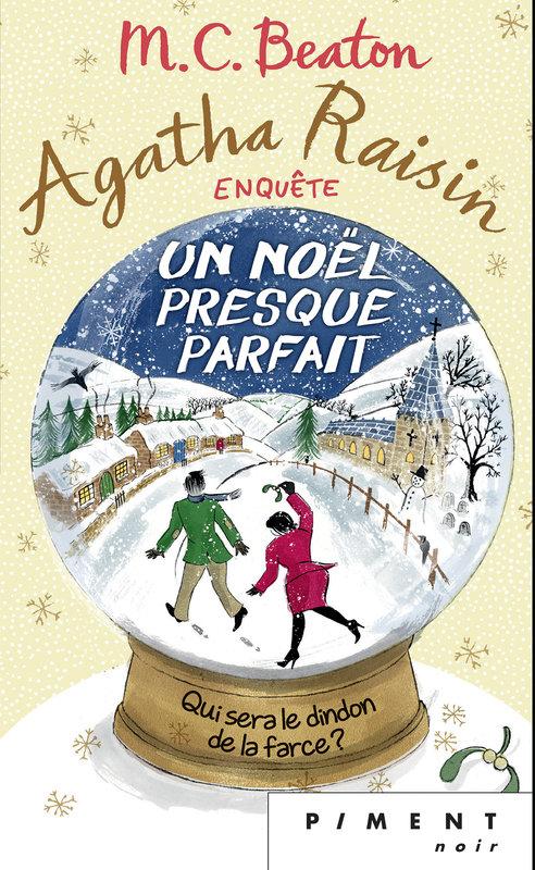 Couverture Agatha Raisin enquête, tome 18 : Un Noël presque parfait