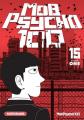 Couverture Mob Psycho 100, tome 15 Editions Kurokawa (Shônen) 2020