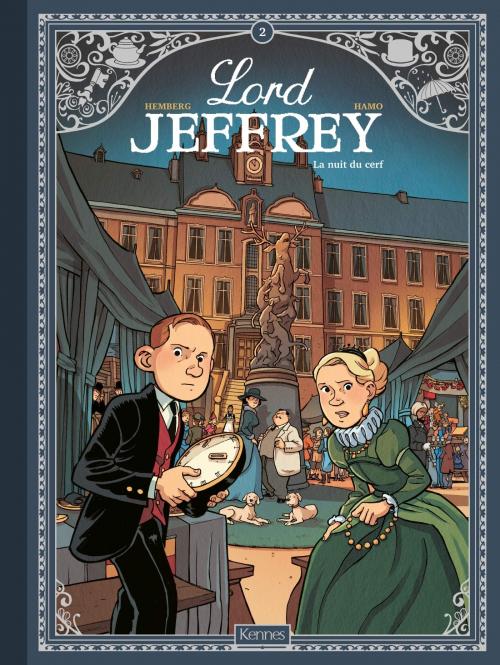 Couverture Lord Jeffrey, tome 2 : La nuit du cerf