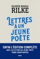 Couverture Lettres à un jeune poète Editions Seuil (Fiction & cie) 2020
