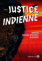 Couverture Justice indienne Editions Gallmeister 2021