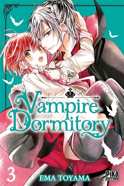 Couverture Vampire dormitory, tome 3