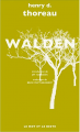 Couverture Walden ou la Vie dans les bois Editions Le mot et le reste 2017
