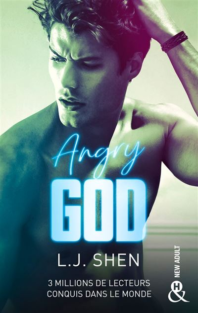 Couverture All Saints High, tome 3 : Angry God