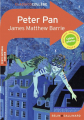 Couverture Peter Pan (roman) Editions Belin / Gallimard (Classico - Collège) 2020