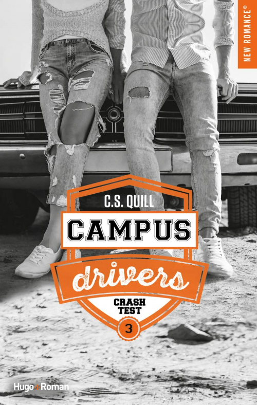 Couverture Campus Drivers, tome 3 : Crashtest