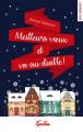 Couverture Meilleurs vœux et va au diable ! Editions Hugo & cie (New romance) 2020