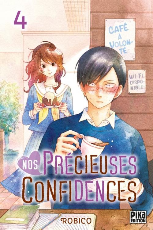Couverture Nos précieuses confidences, tome 4