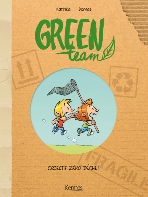 Couverture Green Team, tome 1 : Objectif Zéro déchet