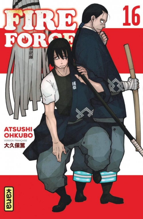 Couverture Fire Force, tome 16