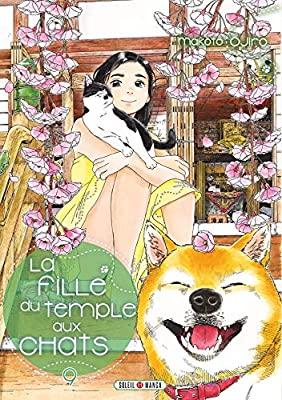 Couverture La fille du temple aux chats, tome 9