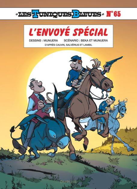 Couverture Les tuniques bleues, tome 65 : L'envoyé spécial