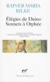 Couverture Les élégies de Duino, Les sonnets à Orphée Editions Gallimard  (Poésie) 1994