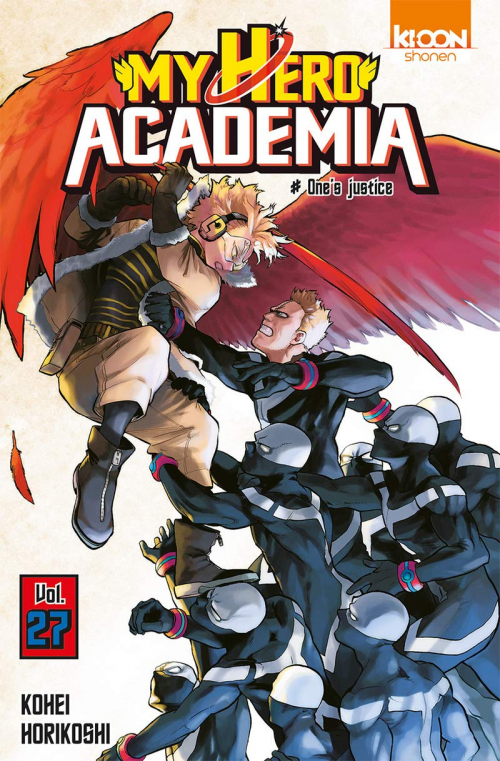 Couverture My Hero Academia, tome 27 : One's justice