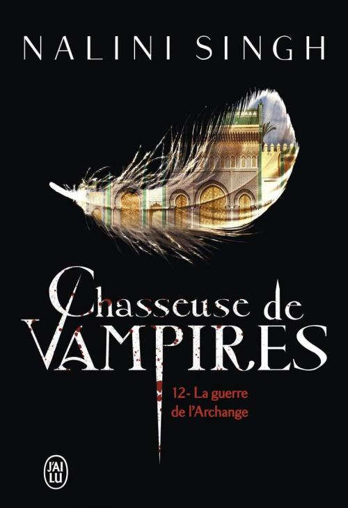 Couverture Chasseuse de vampires, tome 12 : La guerre de l'Archange