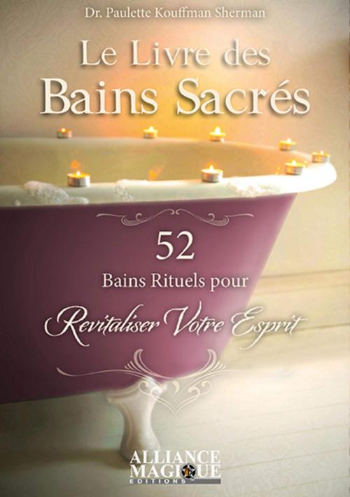 Couverture Le Livre des bains sacrés