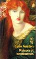 Couverture Raison et Sentiments / Le Coeur et la Raison / Raison & Sentiments Editions 10/18 (Domaine étranger) 2007
