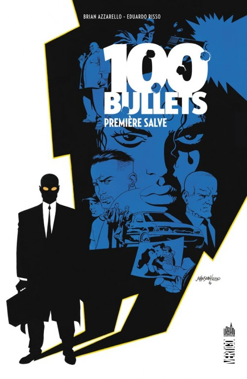 Couverture 100 Bullets (Broché), tome 01 : Première salve