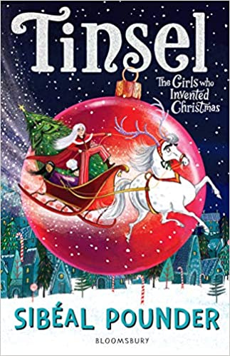 Couverture Tinsel, the girl who invented christmas