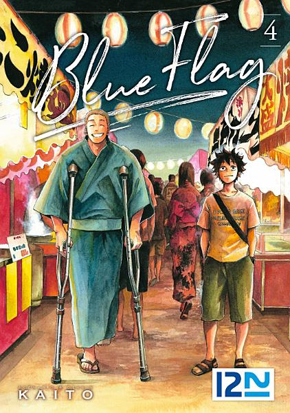 Couverture Blue Flag, tome 4