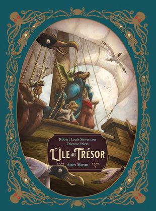 Couverture L'île au trésor (Etienne Friess)