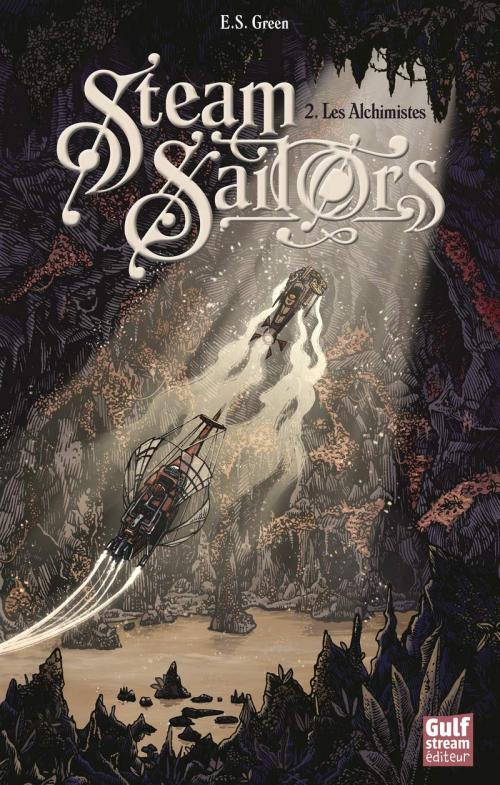 Couverture Steam Sailors, tome 2 : Les Alchimistes