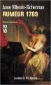 Couverture Rumeur 1789 Editions 10/18 (Grands détectives) 2020